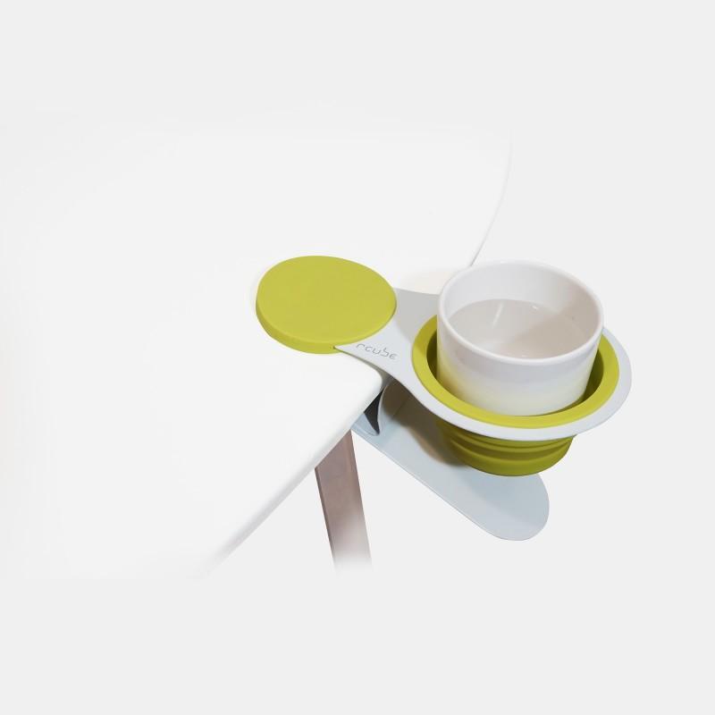 rcube EX!! Cupholder Clip 萬用杯架夾 (綠白)
