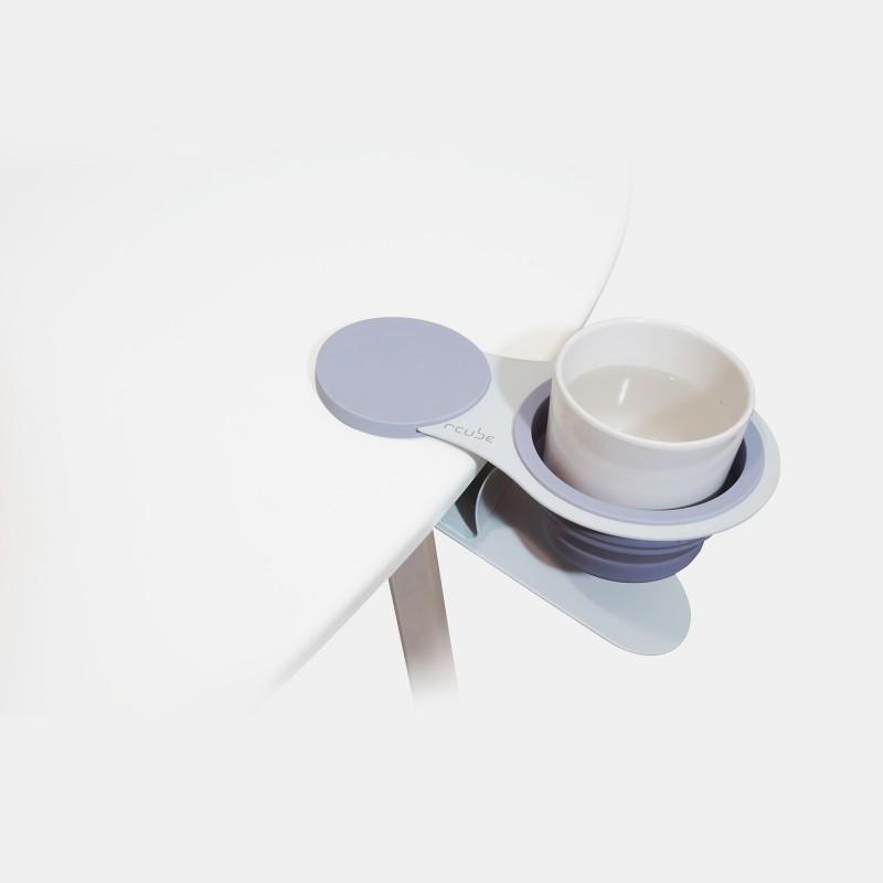 rcube EX!! Cupholder Clip 萬用杯架夾 (紫白)