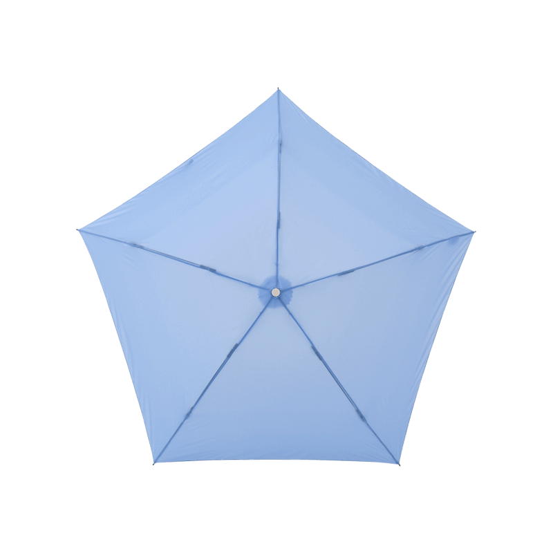 Amvel pentagon72 超輕雨傘 - 冰藍色