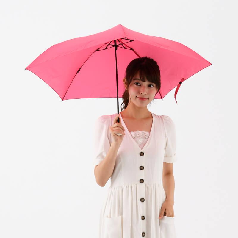 Amvel pentagon72 超輕雨傘 - 櫻桃粉