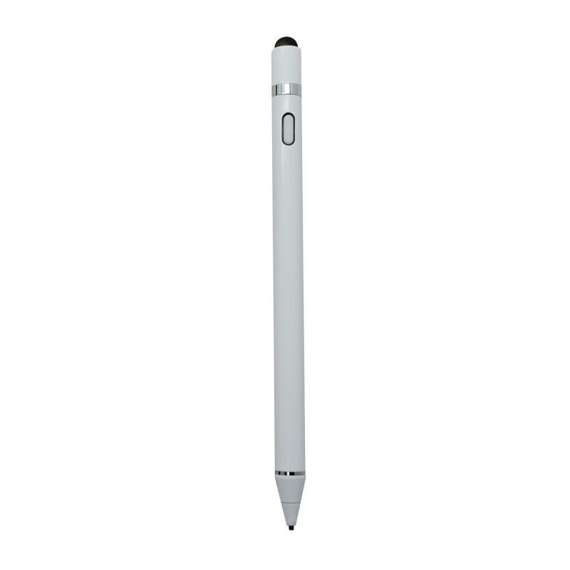 SEVI 1.5mm筆尖USB充電觸控手寫筆 (白色)