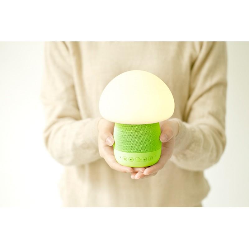 emoi 智能蘑菇音響燈 (綠色)