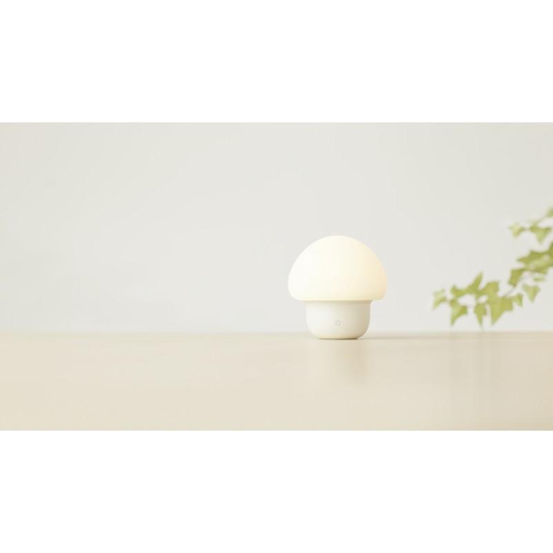 emoi 觸拍變色LED小蘑菇燈 (白色)