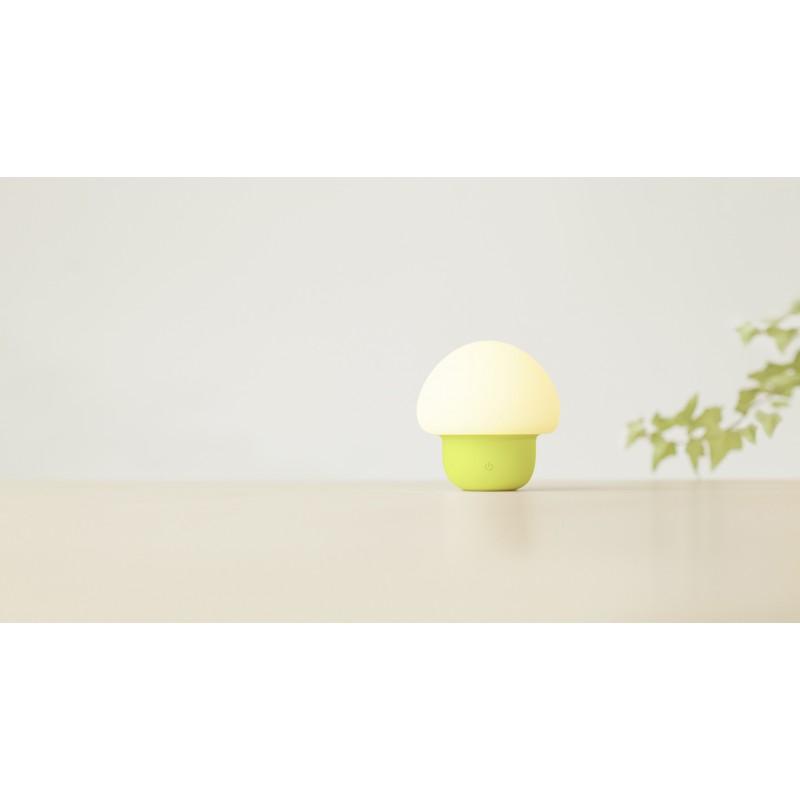 emoi 觸拍變色LED小蘑菇燈 (綠色)