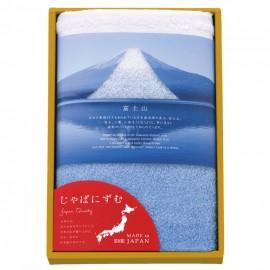日本製富士山100%純棉長方形毛巾