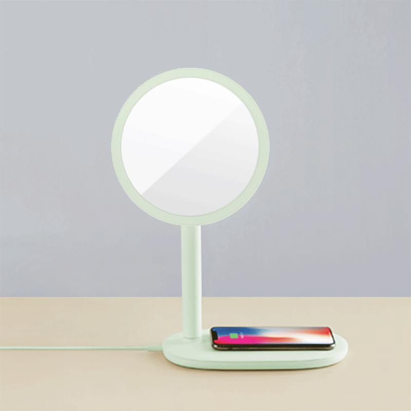 emoi 快速無線充電LED鏡枱燈 (綠色)