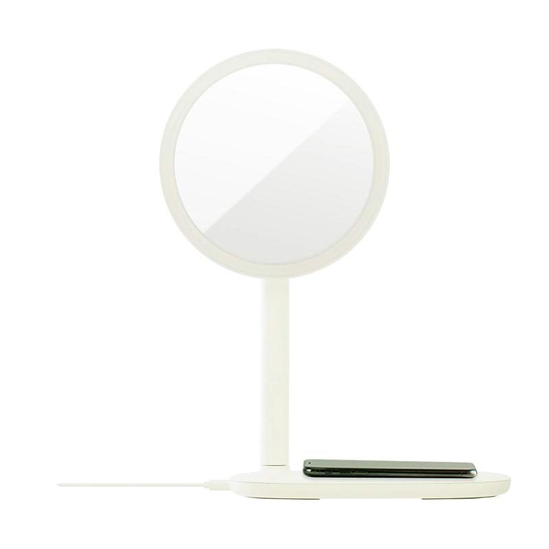 emoi 快速無線充電LED鏡枱燈 (米白色)