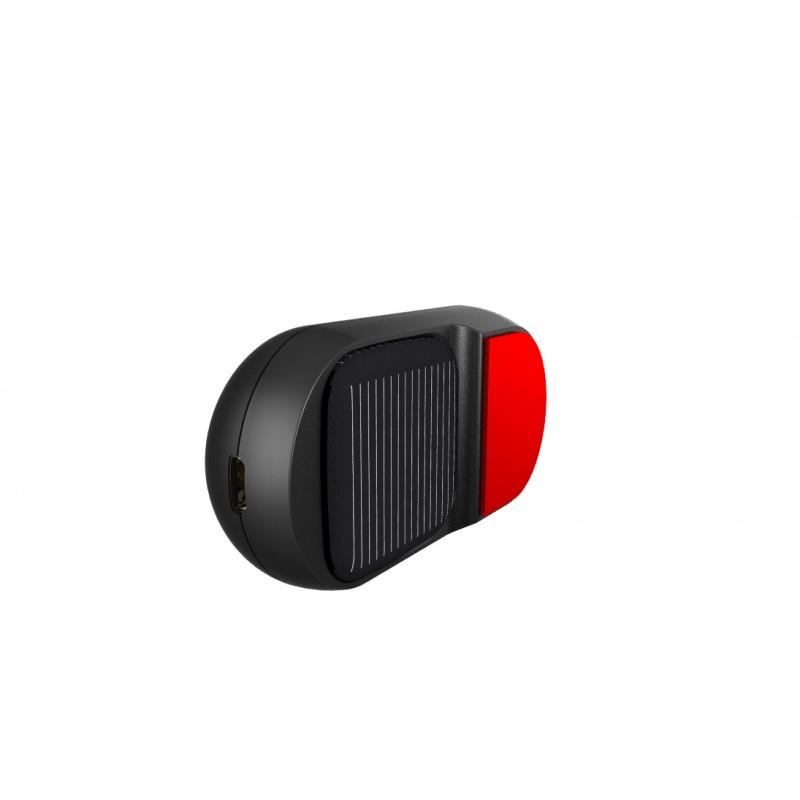 BUIEJDOG 太陽能藍牙耳機-英文語音版(黑色)