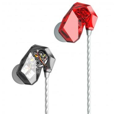 天天動聽 T2 圈鐵入耳式耳機 - 紅色