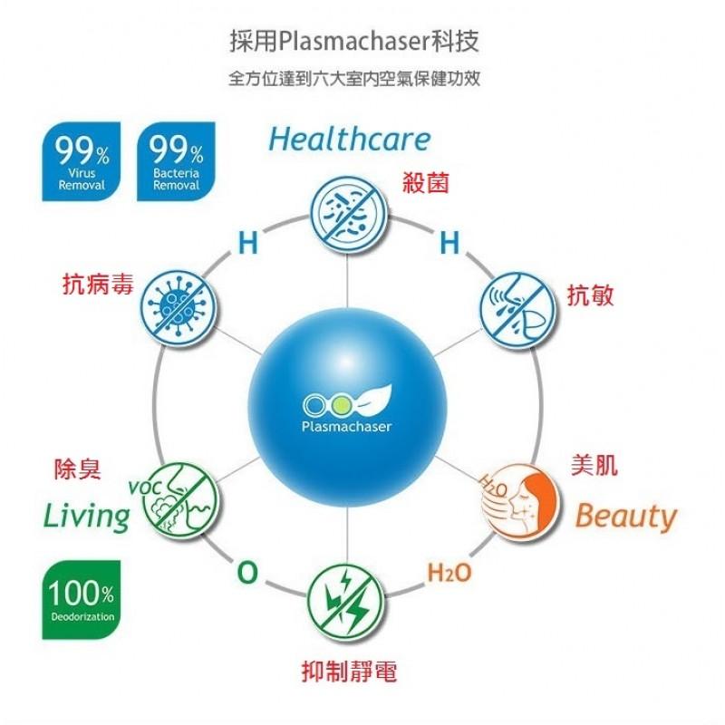 Dr. Pebble V3 第三代韓國製等離子空氣殺菌機 (藍色)