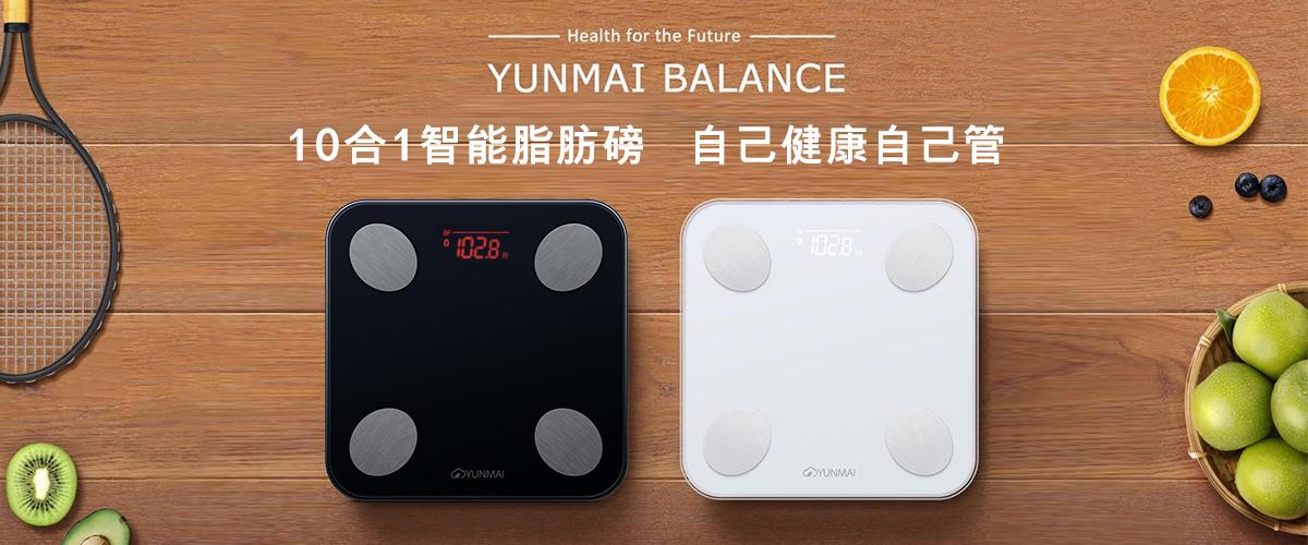 YUNMAI Balance 智能10合1體脂磅 - 國際版