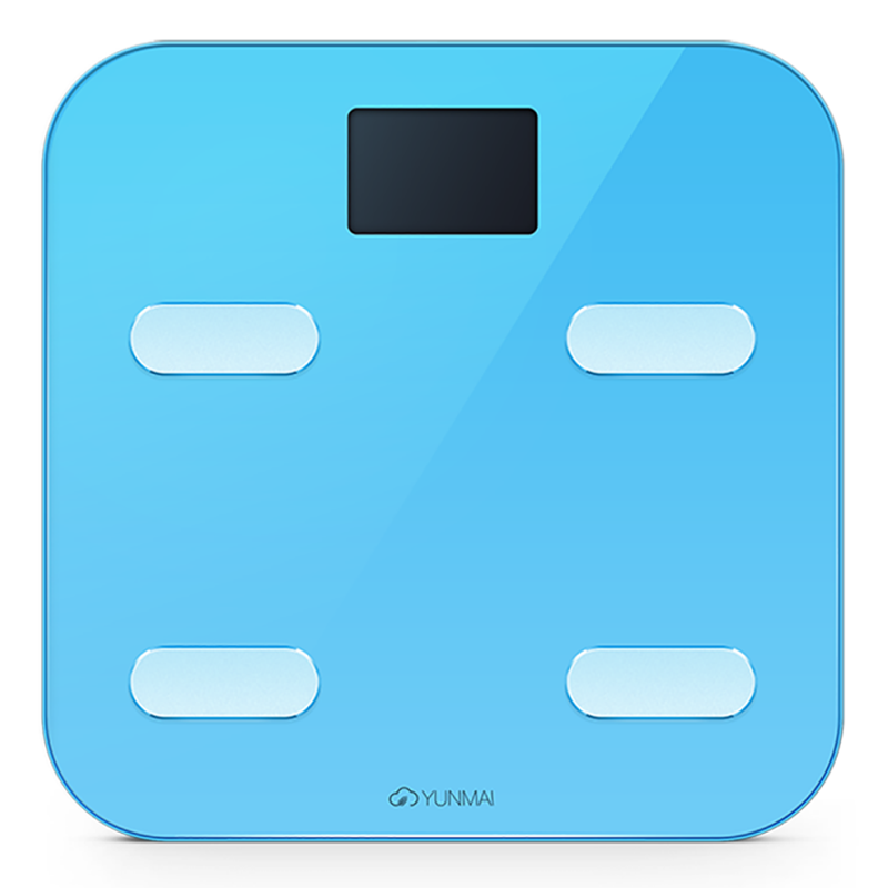 YUNMAI Color 10合1 智能電子磅 - 國際版 (藍色)