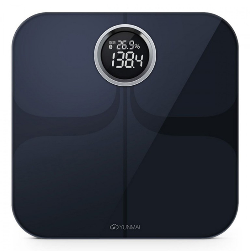 YUNMAI Premium 10合1 智能電子磅 - 國際版 (黑色)
