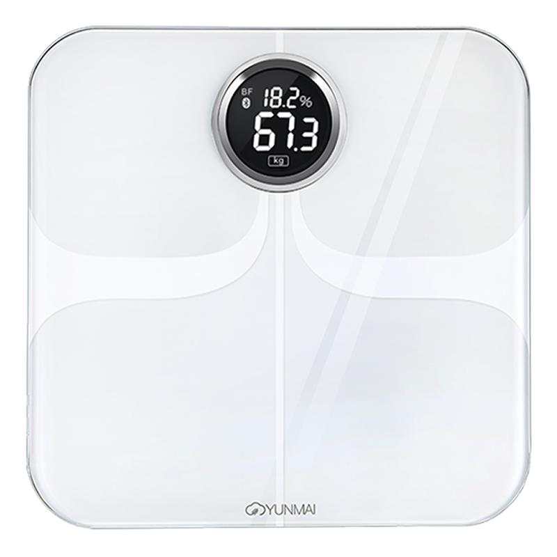 YUNMAI Premium 智能10合1體脂磅 - 國際版 (白色)