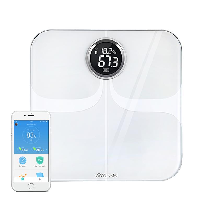 YUNMAI Premium 10合1 智能電子磅 - 國際版 (白色)