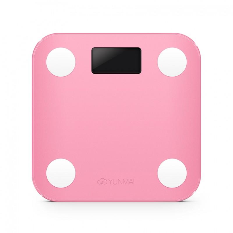 YUNMAI Mini 智能10合1體脂磅 - 國際版 (粉紅色)